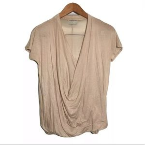 Modern Citizen Drape Wrap Top